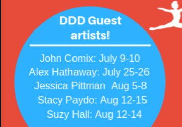 Guest Artists at DDD